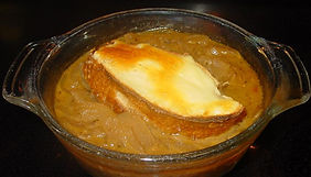 Creole Spicy Onion Soup
