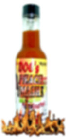 5X Hot Sauce with habanero peppers
