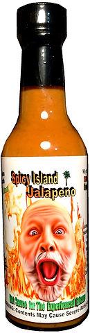 1 X Medium to hot, a  jalapeno, habanero  mustard sauce