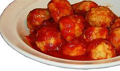 Fiery BBQ Meatballs