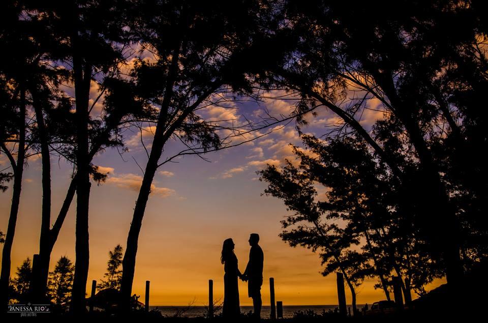 Por do Sol de Outono Casal