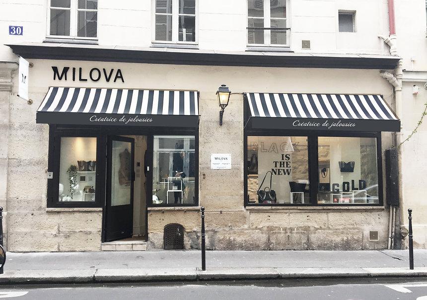 VISITER INTERIEUR BOUTIQUE MILOVA PARIS RUE SAINT ROCH