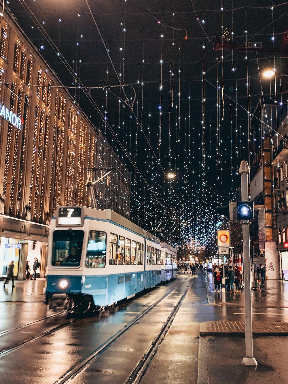 Zúrich en Navidad