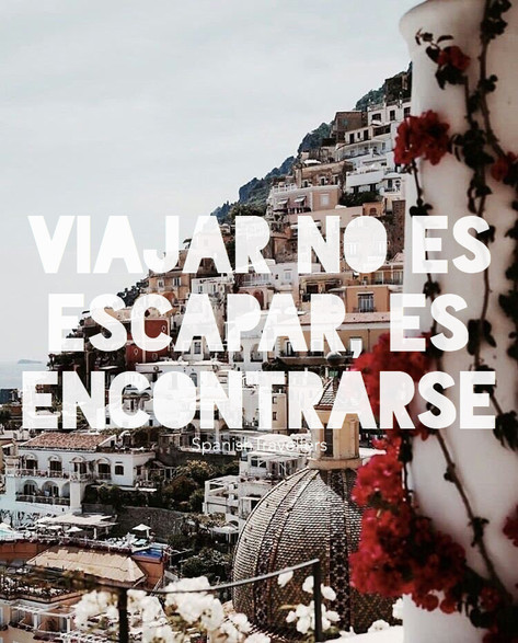 Viajar no es escapar, es enconrarse - Travel Quotes
