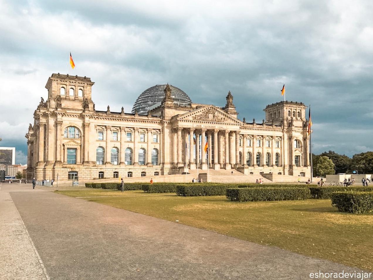 Edificio del Reicstag, el parlamento alemán