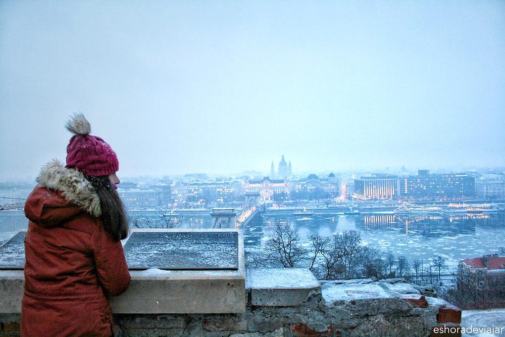 Pest desde el Castillo de Buda