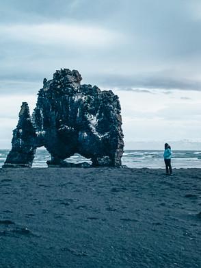 CÓMO LLEGAR A HVÍTSERKUR, EL TROL DE PIEDRA DE ISLANDIA