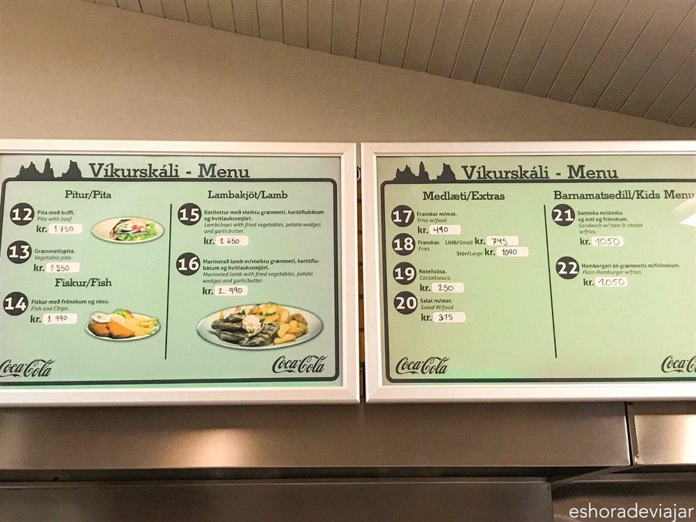 VIKURSKALI_Islandia_precios