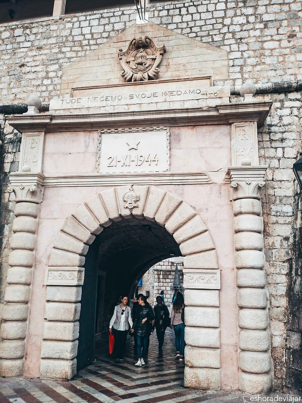 Puerta del Mar