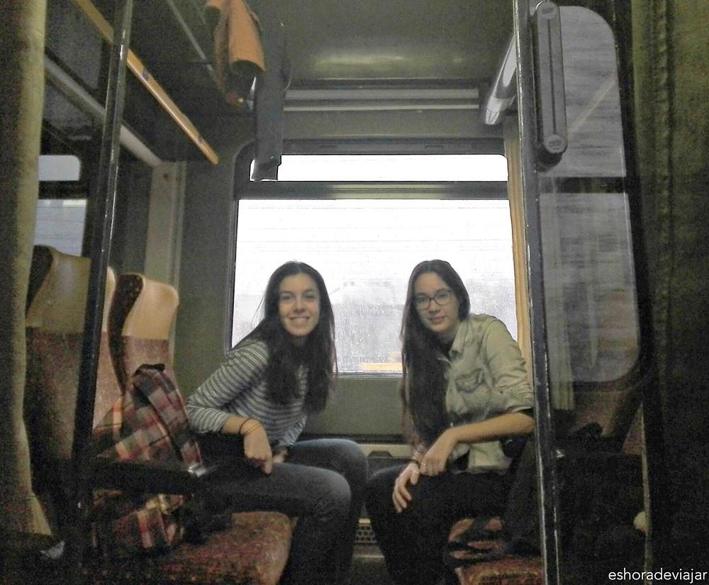 Tren a Bratislava