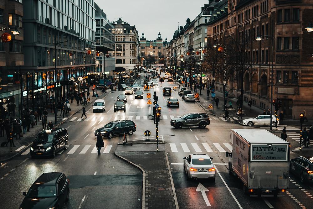 Calles de Estocolmo