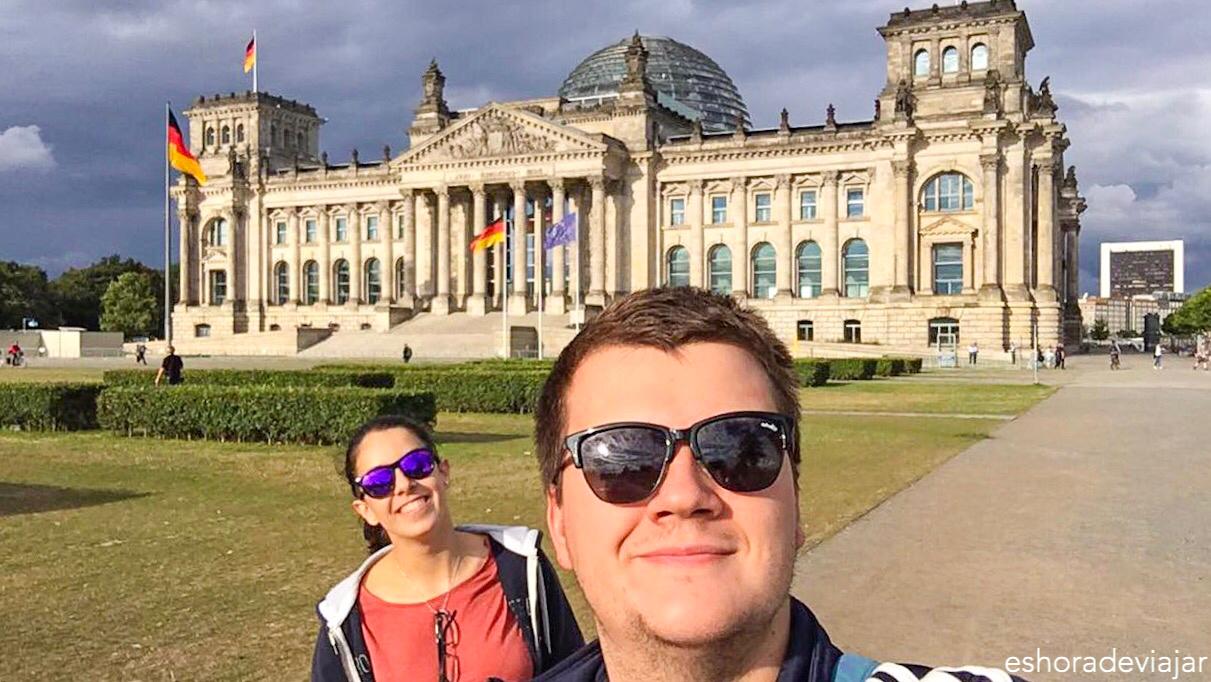 Edificio del Reichstag, el parlamento alemán