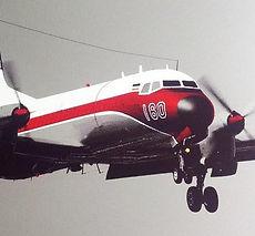 Vintage aviation art prints image
