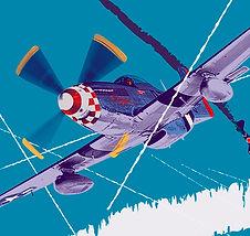 Air combat art photo at Odinzzovshop