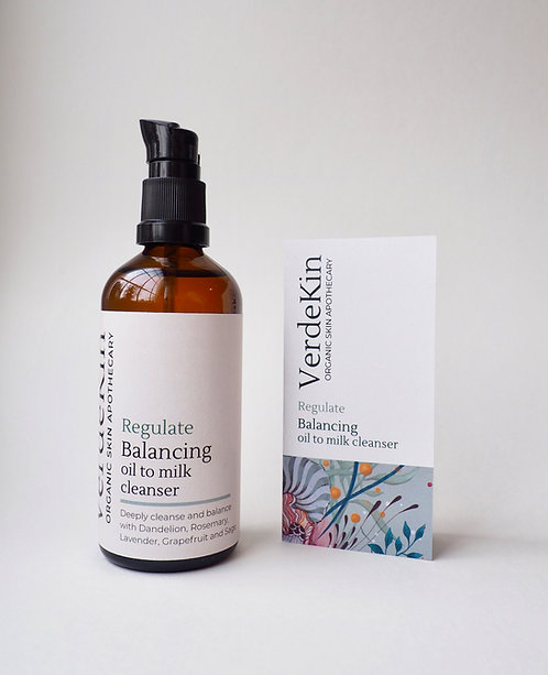 Balancing oil to milk cleanser 100ml