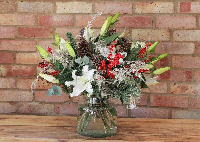 White  Christmas Bouquet
