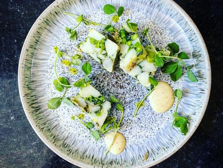 Potato, Pea & Wild Garlic Terrine