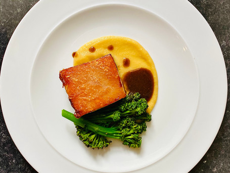 Pork, Apple & Broccoli
