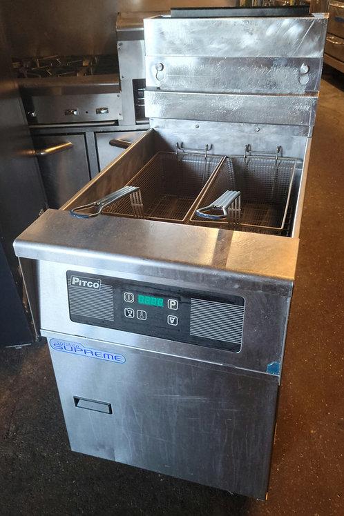 Pitco Fryer Nat 75LB Model: SSH75  20''