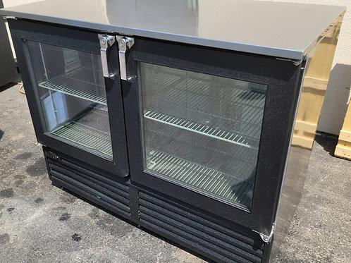 Glass Tender Back Bar Narrow 48''