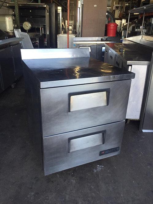 """TrueLowBoyRefrigerator-2 Drawers (27-1/2""""W x 30"""")"""