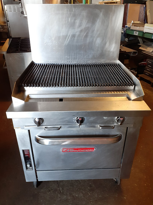 Southbend Grill Range with Oven 36''