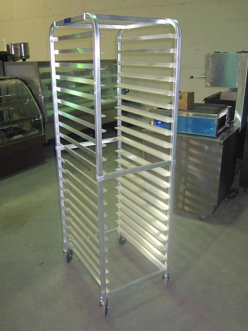 L&J Aluminum Rolling Rack  - Full Size