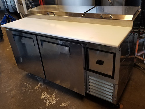 Turbo Air Pizza Table Refrigerator  Deluxe Model 67''