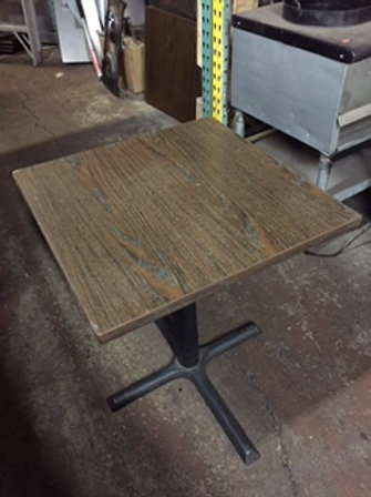 "Dining Table - Brown - 36"" x 36"" - 3 pcs."