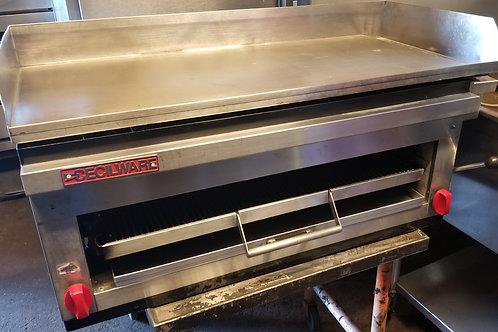 Cecilware Griddle with Cheese Melter 42''