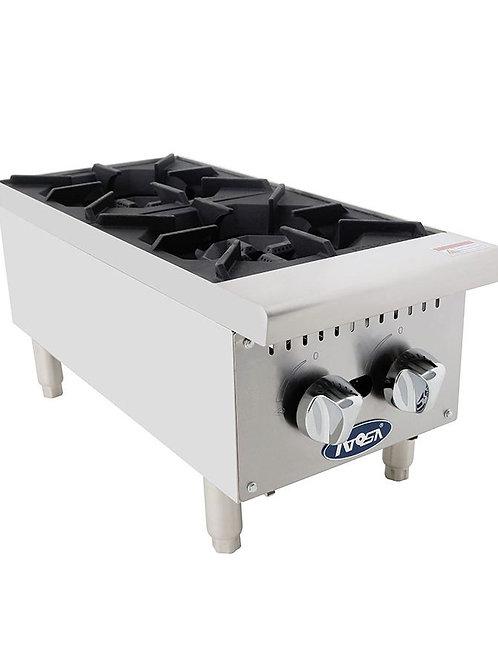 Atosa ATHP-12-2 HD 12″ Two Burner Hotplate