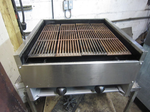 American Range Gas Charcoal Grill 24''
