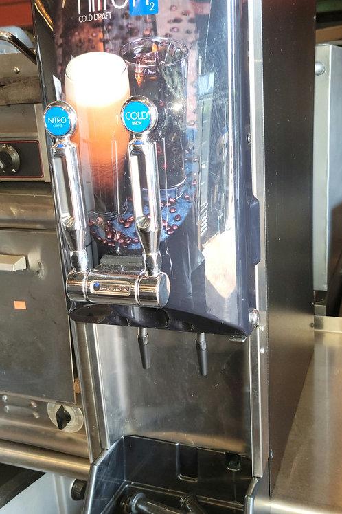 Bunn 51600.0018 2 gal Nitron® Cold Brew Coffee Dispenser w/ (2) Nitro Dispensers