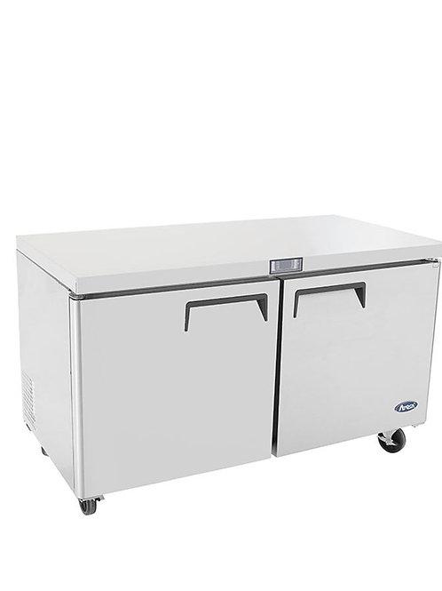 """Atosa MGF8407 60"""" Undercounter Freezer"""