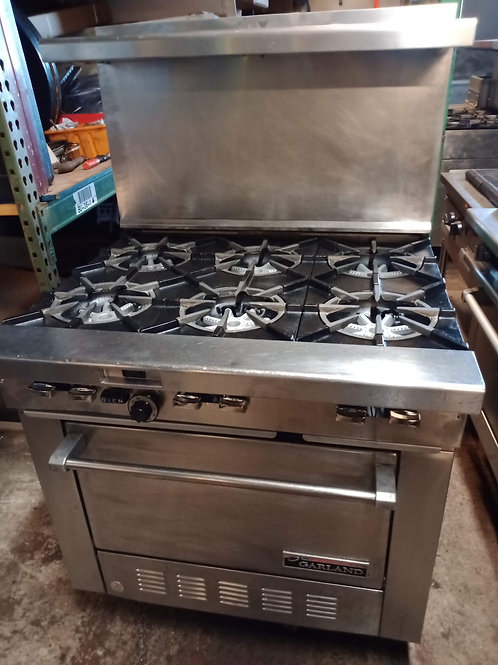 Garland range 6 burners and convection oven 36''