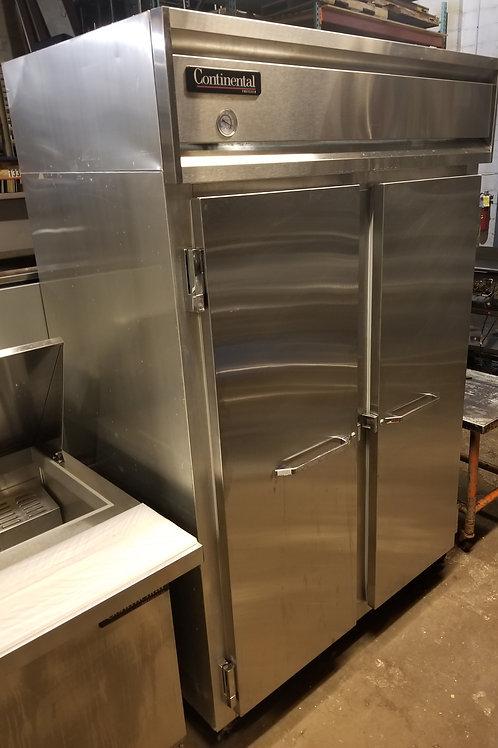 Continental 2 SS Door Freezer 54''