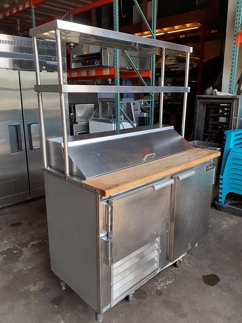 Leader Narrow Sandwich Refrigerator 48''x24''