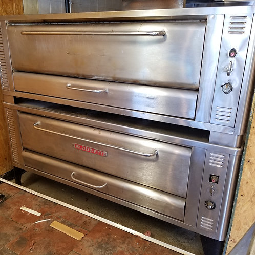Blodgett Pizza Ovens 6 Pies Double Stock 80''