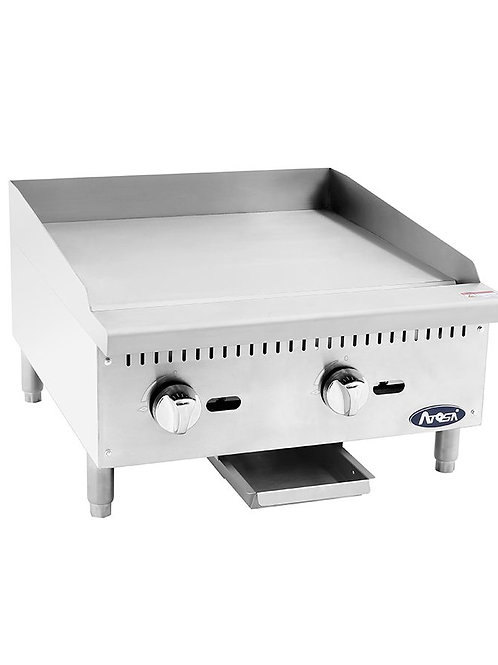 "Atosa ATMG-24 HD 24"" Manual Griddle"