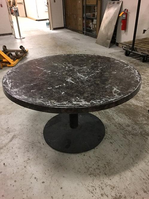 """Fiberglass Outdoor Table 52"""" - 30 in stock"""