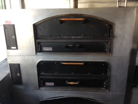 Marsal & Sons Double Stack 6 Pie Pizza Ovens
