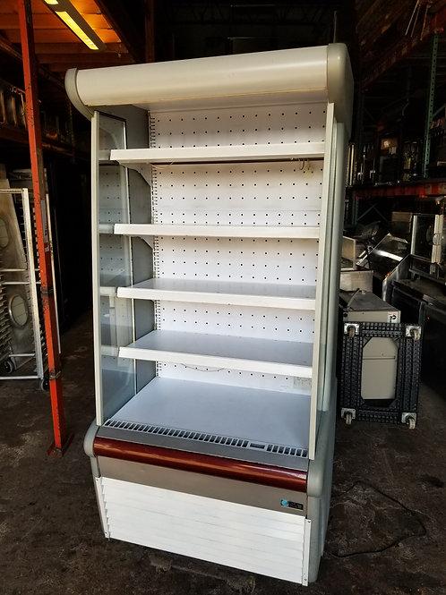 "ISA Open Case Refrigerator 40""-208 Volt"