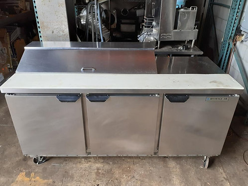 Beverage Air Sandwich Prep Refrigerator 72''