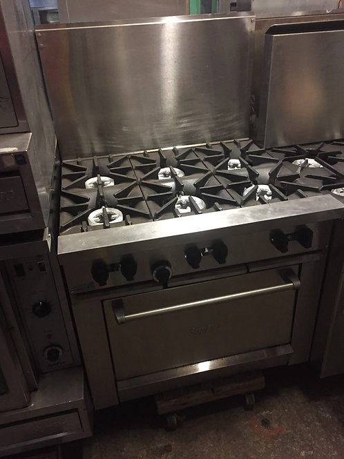 Sunfire 6 Burner Stove - 36""