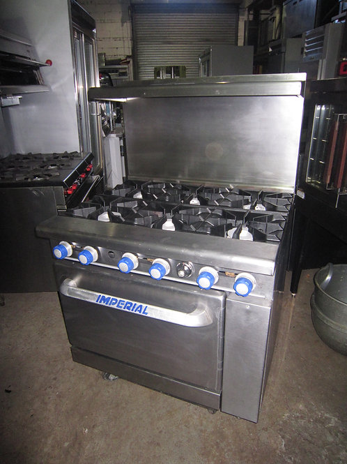 Imperial Gas Stove 36''