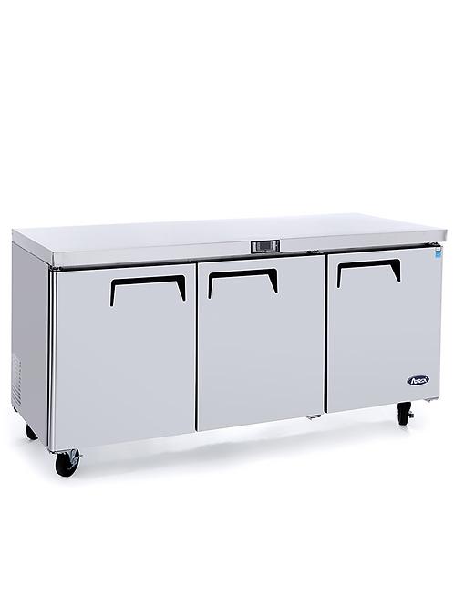 "Atosa MGF8404 72"" Undercounter Refrigerator"