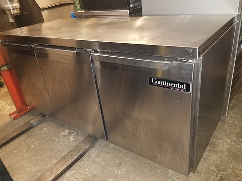 Continental Low Boy Refrigerator 72''