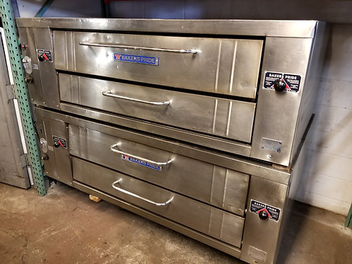 Bakers Pride Y600 Double Pizza Oven 78""