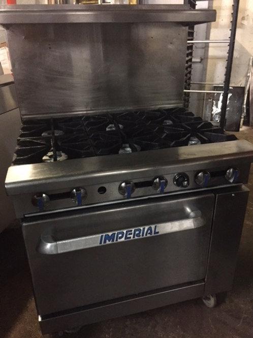 """Imperial 6 Burner Stove 36"""""""