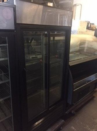 True 2 Sliding Doors Refrigerator 44''